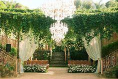 Heavenly Haiku Mill - Fairy Tale Wedding Decor - Maui, Hawaii - Anna Kim Photography
