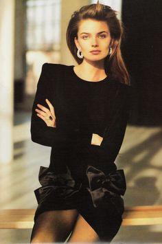 Paulina Porizkova by Arthur Elgort, 1987