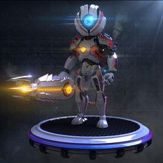 Wei Robot | Blender Cookie