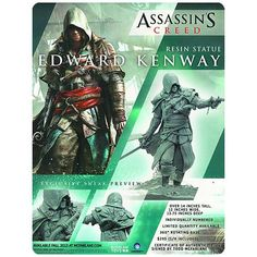 Assassins Creed IV Black Flag Edward Kenway 1:6 Scale Statue - McFarlane Toys - Assassins Creed - Statues at Entertainment Earth