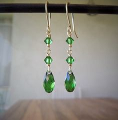 Swarovski Crystal Earrings Swarovski Earrings by MyCrafeteria