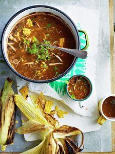Chicken & black bean chowder | Jamie Oliver