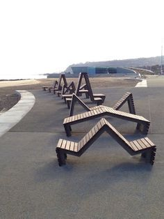 Goose Foot Street Furniture: Bespoke seating for Colwyn Bay promenade 2 of 3