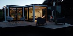 Granny pods cost Hive Haus: The future of housing Wigan builder creates innovative alternative to high cost homes Granny Pod Cost, George Clarke Amazing Spaces, Flat Pack Homes, Tiny House Living, Small Living, Nest Design, Social Housing, Earthship, Small Spaces