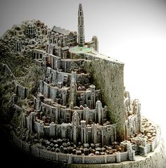Minas Tirith- City of Kings. Land of Gondor Tolkien, Minas Tirith, Medieval, Fantasy City, Middle Earth, Lord Of The Rings, Lotr, Belle Photo, The Hobbit
