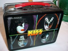 KISS ALIVE Lunch Box Stanley Simmons Frehley Griss Metal Unused Rock Star Band