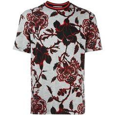 McQ Alexander McQueen floral print T-shirt