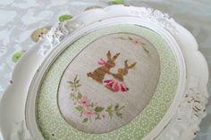 Stitcher: Aude  - Design: The Snowflower Diaries: Spring Bunny Love (2013)