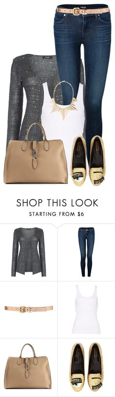"""Wink, Wink"" by rarityx ❤ liked on Polyvore featuring VILA, J Brand, Forever 21, Gucci, Chiara Ferragni and Panacea"
