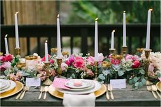 Table runners are often overlooked when it comes to wedding decor, but they often help frame your floral centerpieces and organize your space. Red Wedding, Wedding Table, Rustic Wedding, Wedding Flowers, Wedding Ideas, Wedding Dinner, Wedding Inspiration, French Wedding, Wedding Details