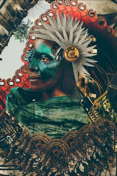Jua Kali Photomontage by Tahir Carl Karmali