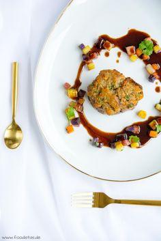 Rinderfilet mit Maronenkruste & bunten Röstkartoffeln, Jus kochen Rezept, Weihnachtsmenü kochen, Weihnachtsmenü Rezepte, Heilig Abend kochen