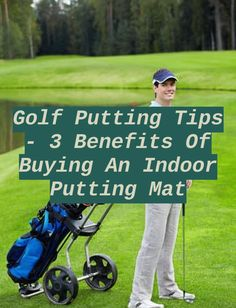 Golf Putting Green. This is perhaps one of the most popular golfing aids that are available on the market because it consists of artificial grass that... Golf Putting Green, Golf Putting Tips, Indoor Putting Mats, Golf Pants, Putt Putt, Moving Forward, Soccer Ball, Grass, Popular