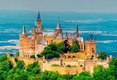 Hohenzollern Castle - Germany  Germany has the most beautiful castles ever!
