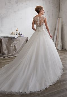 [Like the back of the top half] 1 Wedding by Mary's Bridal 6602 Ball Gown Wedding Dress