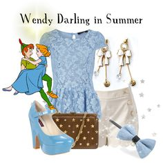 """Wendy Darling in Summer"" by agust20 on Polyvore"
