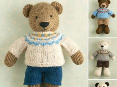 New Pattern ... Toy knitting pattern for by Littlecottonrabbits