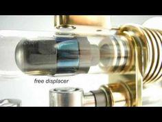Magnet Stirling engine - YouTube