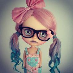 "OOAK art doll takara blythe custom RBL "" Sirena "" by  Kdolls heaven"
