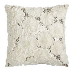 Rosette Sequins Pillow