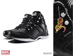 Reebok X Marvel Limited Edition Footwear by Anthony Petrie, via Behance