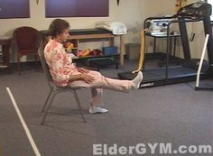 Knee Strengthening Exercises For Older Adults And The Elderly.