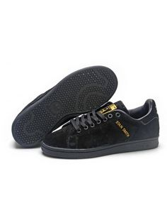 info for a1e41 025a1 Adidas Stan Smith Herr Svart Gul SE375686