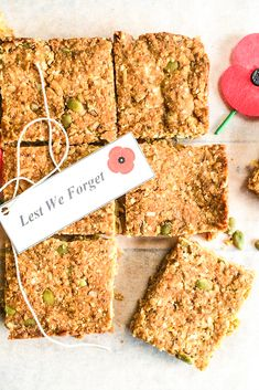 Dairy free - Egg free -Lactose free - Low fodmap & Gluten free recipe - but love ANZAC slice? We've got you covered! Swap out traditional oats for QUINOA flakes and whip up a batch of low FODMAP ANZAC slice! Lactose Free Snacks, Gluten Free, Slow Cooked Beef Cheeks, Fodmap Baking, Oat Slice, Cod Cakes, Dairy Free Eggs, Egg Free, Dairy Free Spread