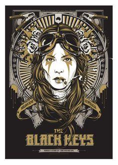 The Black Keys by Ken Taylor.