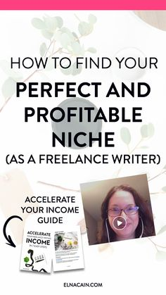 Trying to find your freelance writing niche? OMG, this video tells it all! It even shows you how to find that profitable niche, not just any niche for your business. If you want freelance writing jobs, find a good niche. Watch this video today!