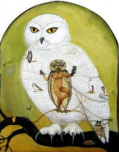painting: our internal priestess channeling the wisdom of the White Owl: 'elticolote'. Painter Irene Hardwicke Olivieri, Magic Realism, Internal landscapes and consciousness, and it's affect on our external environment, through magic or at least through self-reflection and motivation for change. Cool video: http://player.pbs.org/viralplayer/2365717176 http://www.irenehardwickeolivieri.com/