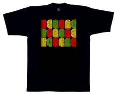 Reggae Reggae Reggae Retro style T Shirt by RubADubStyle on Etsy, £14.00