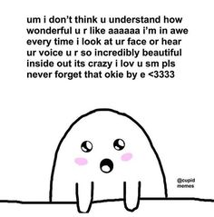 Cartoon Memes, Funny Memes, I Really Love You, My Love, Cute Love Memes, Crush Memes, Wholesome Memes, Cheer Up, Reaction Pictures