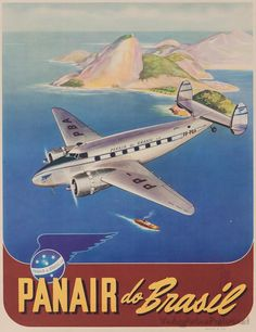 PANAIR (Italy) Panair was an airline based in Italy from 2001 to 2003. Vintage travel posters - Panair do Brasil