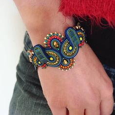 Soutache Bracelet, Soutache Jewelry, Plastic Canvas Tissue Boxes, Plastic Canvas Patterns, Beanie Boos, Polymer Clay Charms, Monster High Dolls, Tissue Box Covers, Neck Warmer