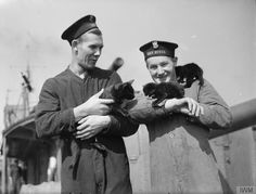 Sailors of the Polish destroyer ORP Burza with the... - Historical Times