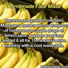 Get Rid Of Blackheads In 5 Minutes. Half lemon and drops of honey rub! Wrong pic but I dig the banana recipe also