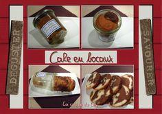cake en bocaux (déjà cuits : conservation : jusqu'à 6 mois dans placard ou cellier)