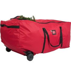 Tree Keeper EZ Roller 9-foot Rolling Tree Duffel Bag (Red)