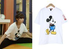 "Jung Eun-Ji in ""Trot Lovers"" Episode 5.  LAP Mickey Shirt #Kdrama #TrotLovers #트로트의연인 #JungEunJi #정은지"