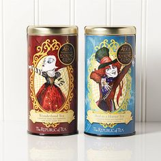 The Republic of Tea Mad as a Hatter and Wonderland Teas 2-pack - 7982315 | HSN