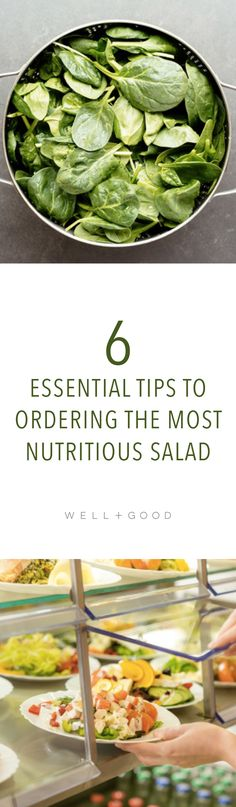 How to order a healthy salad