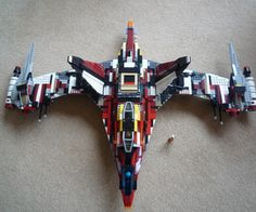 Image result for lego spaceship homemade