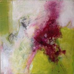 Rita Mester, Kunst, Abstrakt, 100 x 100 cm, Mischtechnik
