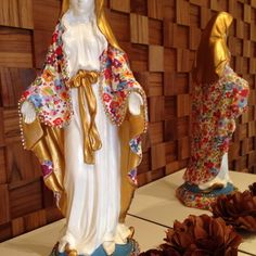 Catholic Art, Religious Art, Decoupage, Madonna, Candle Magic, Blessed Mother, Sculpture, Creative, Crafts