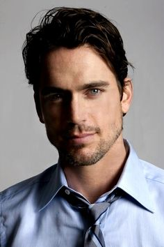 Matt Bomer. more rough around the edges