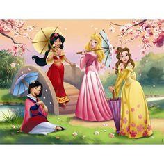 Milan, Jasmine, Aurora, and Belle