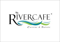 I like how the river graphics flow beneath the text. river logos - Google Search