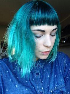 alpine green hair, directions