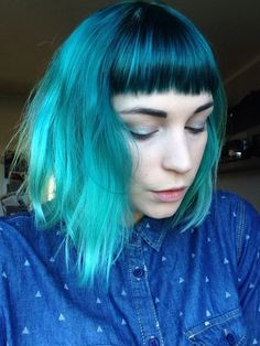 alpine green hair, directions